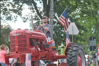 Lisa Yanick Litwiller - Morning Sun  The 2017 Rosebush Fourth of July celebration parade on Saturday, July 1.