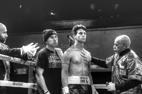 Roseland Ballroom, New York, NY February 21, 2-13: Neuky Santelises vs Danis Madriz