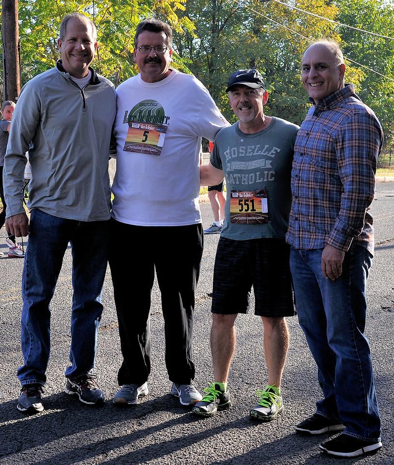 Paul Juelis, Joe Hills, Rob O'Leary, Rocco DiPaola all '78