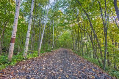 Wallkill Valley Rail Trail, Rosendale, New York, USA