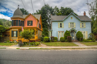 James Street, Rosendale, New York, USA