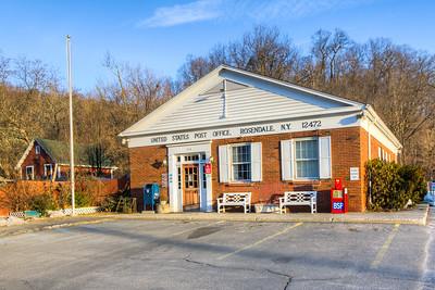 Rosendale Post Office, Rosendale, New York, USA