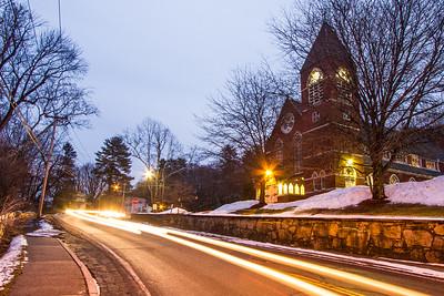Saint Peter's Traffic Trails Winter