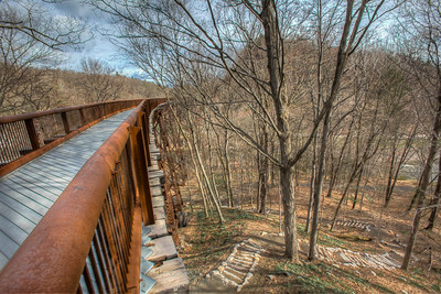 Connector Path, Rosendale Trestle, Rosendale, New York, USA