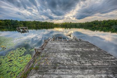 Williams Lake, Rosendale, New York, USA