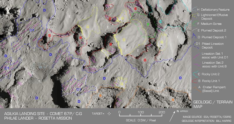 Agilkia Geomorphology Map