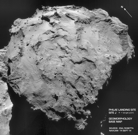 Rosetta-- Geomorphology