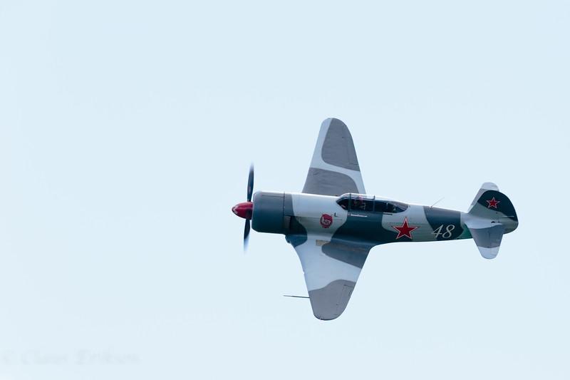 Yakovlev Yak-3 flyby
