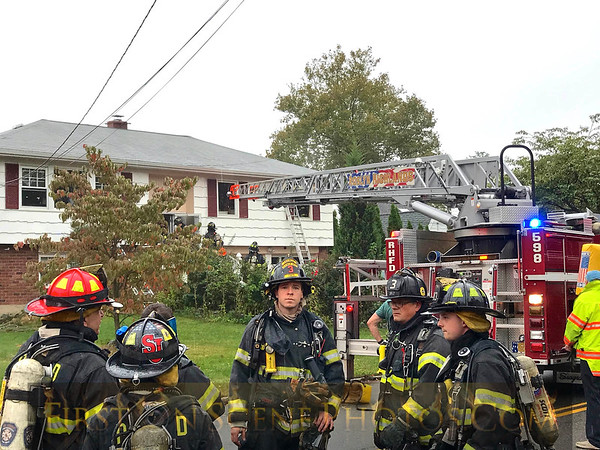 Roslyn Heights House Fire