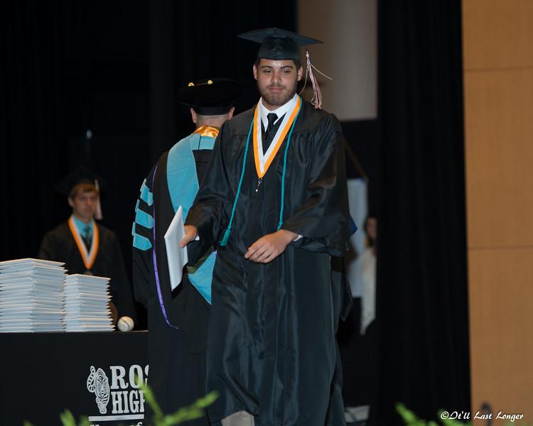 Rosman High Graduation 2016-151