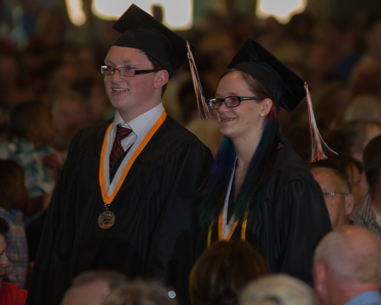 Rosman High Graduation 2016-9