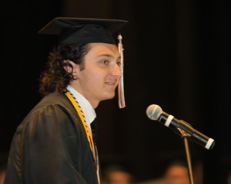 Rosman High Graduation 2016-14