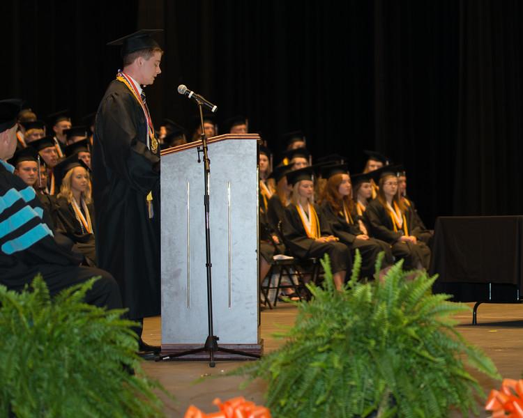 Rosman High Graduation 2016-18
