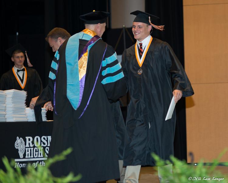 Rosman High Graduation 2016-112
