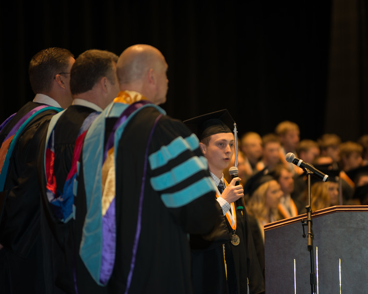 Rosman High Graduation 2016-12