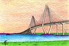 Cooper River Bridge Drawing 1