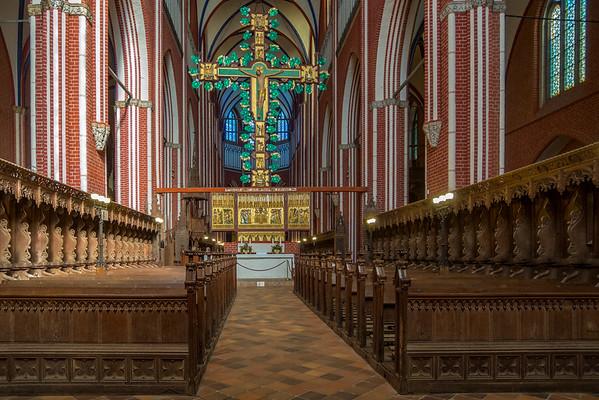 Das Prachtkreuz im Münster.