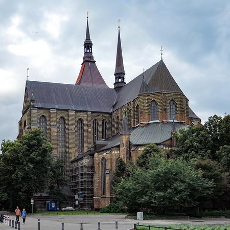 Die Marienkirche in Rostock.