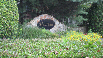 Hadfield Neighborhood Along Mountain Park Road Roswell GA (6)