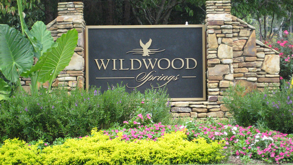 Wildwood Springs Along Mountain Park Road Roswell GA  On Site