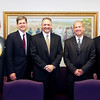 New Stake Presidency with Visiting Authorities (Left to Right)<br /> <br /> Elder W. Craig Zwick, Pres. David A. Winters, Pres. Verne M. Ernst, Pres. Scott Mower, Elder M. Keith Giddens