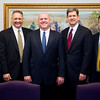 Former Stake Presidency (Left to Right)<br /> <br /> Lynn Winterton (Stake Clerk), Verne Ernst (1st Counselor), Russell Jensen (President), David Winters (2nd Counselor), Gary Coleman (Executive Secretary)