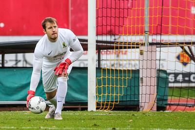 Denis Wieszolek (Eintracht Trier) ; Rot-Weiß Koblenz - Eintracht Trier (1:1) in Stadion Oberwerth, Koblenz; 25.11.18, Photo: Jan von Uxkull-Gyllenband