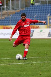 Ismayil Barut (Rot-Weiß Koblenz); Rot-Weiß Koblenz - Eintracht Trier (1:1) in Stadion Oberwerth, Koblenz; 25.11.18, Photo: Jan von Uxkull-Gyllenband