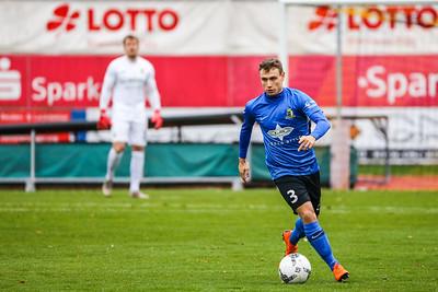 Kevin Heinz (Eintracht Trier); Rot-Weiß Koblenz - Eintracht Trier (1:1) in Stadion Oberwerth, Koblenz; 25.11.18, Photo: Jan von Uxkull-Gyllenband