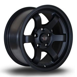 Rota Grid Max 15x7 4x100 et20 Flat Black