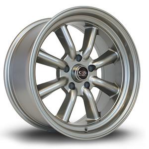 Rota RKR 17x8.5 et-10 Steel Grey