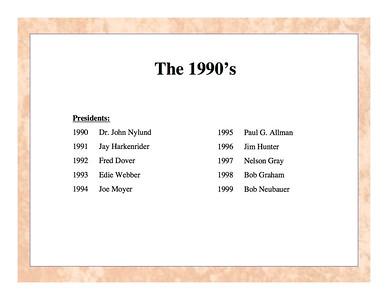 Rotary 1990's