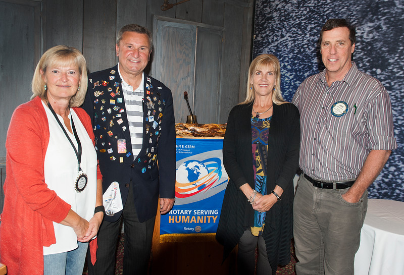 Rotary District Governor Shaun Michel