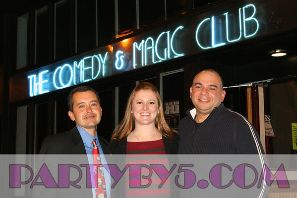 Rotary Club of Westchester visits Hermosa Beach Comedy & Magic Club