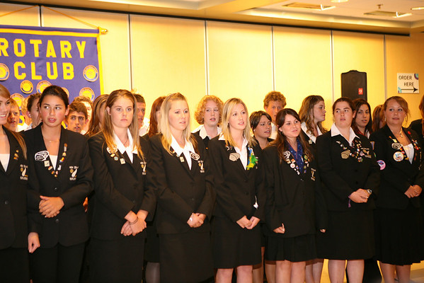 Rotary Club of Westchester hosts New Zeland Exchange Students