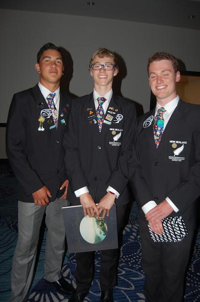 Rotary International 2013 New Zeland Exchange Students