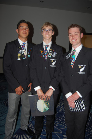 Rotary International 2013 New Zeland Exchange Students