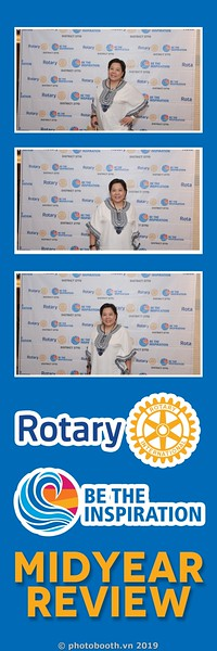Rotary - Be The Inspiration instant print photobooth in Sofitel Saigon Plaza | Chụp ảnh in hình lấy liền sự kiện tại TP.HCM