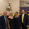 From left, President Frank Antifonario and wife Rachel, and Margie and Glenn Mello, all of Dracut