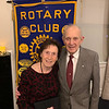 Original Dracut Rotary President and charter member Dr. Paul Dufour and his lovely wife and big Z-List fan, Doris, of Dracut
