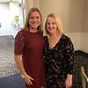 Dracut Selectman Alison Hughes and Kate Dame of Pelham