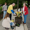 Spring Rotary Barrel Planting in Downtown Morristown - ©David Shapiro 2010
