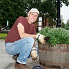 Rusty Schommer - Rotary Barrel Planting and Fall Festival - ©David Shapiro 2011