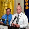 Bob Miller and Denny Morrison - 2012-13 Rotary Installation Dinner - ©David Shapiro 2012