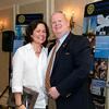 Jill Savage and P.J. Thurkauf - 2012-13 Rotary Installation Dinner - ©David Shapiro 2012