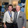Scott Marum and Jim Allison - 2012-13 Rotary Installation Dinner - ©David Shapiro 2012
