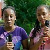 Campers Treasure and Shaniqua; Camp Merryheart - Photo by David Shapiro 2012