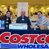George Massaker, Nick Saccone and Mike Mihalik of Costco getting set for the Taste.  Taste of Morristown at the Hanover Marriott in Whippany, NJ 03/04/2013 - Photo by David Shapiro
