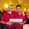 Business partners Matteo Ielemo and Ori Kasneci of Pomodoro - Taste of Morristown at the Hanover Marriott in Whippany, NJ - Photos by David Shapiro
