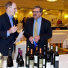 Michael Peters from Verity Wine Partners speaks to Geoff Close of Tewksbury - Taste of Morristown at the Hanover Marriott in Whippany, NJ 03/04/2013 - Photo by David Shapiro